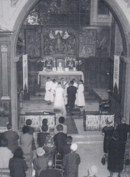 Mariage en 1964